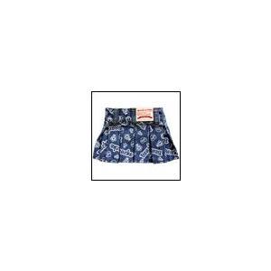犬の服 春 夏 ペイントデニムスカート インディゴ beache ビーチェ ボトムス 洋服 ドッグウェア ciera