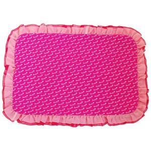 犬の服 春 夏 新作 ストライプフリルロンパース ピンク beache ビーチェ つなぎ カフェマット付き 洋服 ドッグウェア|ciera|05