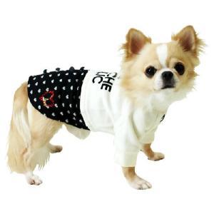 秋冬 新作 犬の服 重ね着風トレーナー グレー BEACHE HOLIC ビーチェ ホリック 洋服 ドッグウェア|ciera|04
