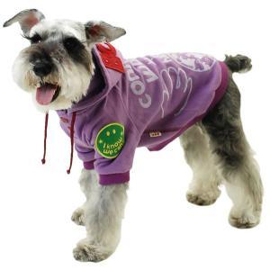 秋冬 新作 犬の服 WORLDパーカー パープル BEACHE HOLIC ビーチェ ホリック 洋服 ドッグウェア|ciera|04
