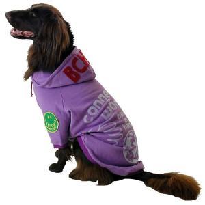 秋冬 新作 犬の服 WORLDパーカー パープル BEACHE HOLIC ビーチェ ホリック 洋服 ドッグウェア|ciera|05