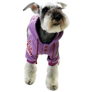 秋冬 新作 犬の服 WORLDパーカー パープル BEACHE HOLIC ビーチェ ホリック 洋服 ドッグウェア|ciera|06