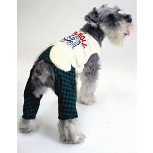 秋冬 新作 犬の服 マシューつなぎ アイボリー BEACHE HOLIC ビーチェ ホリック 洋服 ドッグウェア ciera 04