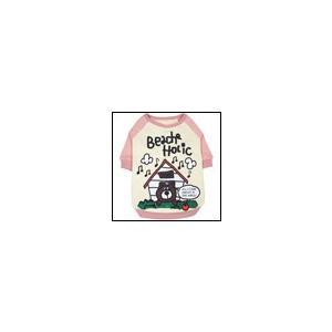 犬の服 秋冬 新作 ハウスベー君トレーナー ピンク BEACHE HOLIC ビーチェホリック 洋服 ドッグウェア|ciera