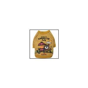 犬の服 秋 冬 新作 BBQトレーナー イエロー BEACHE HOLIC ビーチェホリック 洋服 ドッグウェア|ciera