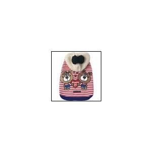 犬の服 秋 冬 ペアルックパーカー ピンク BEACHE HOLIC ビーチェホリック 洋服 ドッグウェア|ciera