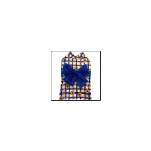 犬の服 春 夏 ラフチェックゆかた ブルー BEACHE HOLIC ビーチェホリック 洋服 ドッグウェア|ciera