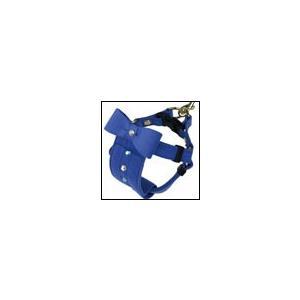 犬の胴輪 リンバーハーネス ブルー BIRDIE バーディ|ciera