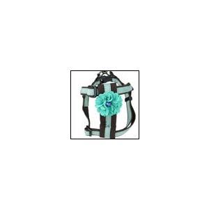 犬の胴輪 ダリアハーネス SM グリーン BIRDIE バーディ|ciera