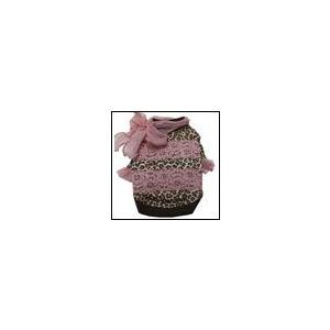 犬の服 秋 冬 ヒョウスカーフT ピンク CHARCOAL チャコール upcolors ユーピーカラーズ 洋服 ドッグウェア ciera