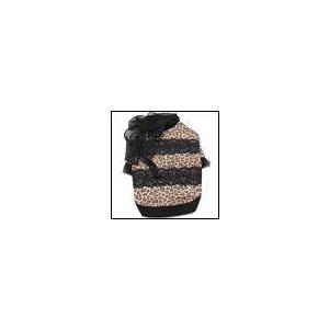 犬の服 秋 冬 ヒョウスカーフT ブラック CHARCOAL チャコール upcolors ユーピーカラーズ 洋服 ドッグウェア ciera