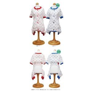猫の服 春 夏 新作 クークチュール クール×クールプラス Cool×Cool Plus 背中開きパジャマ ブルー 洋服 クールウェア|ciera|02