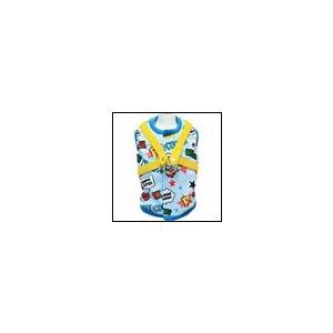 犬の胴輪 春 夏 新作 クークチュール クール×クールプラス アメコミハーネス ブルー Cool×Cool plus|ciera