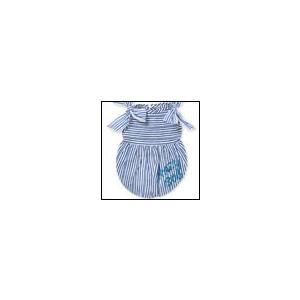 犬の服 春 夏 新作 リボンバルーンワンピース ブルー crazy boo クレイジーブー 洋服 ドッグウェア|ciera