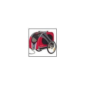 犬用カート ドギーライド・ドッグ・バイク・トレーラー ノーベル レッド Doggy Ride Dog Bike Trailer|ciera