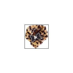 犬のマフラー 秋 冬 GODPIVA ファーマフラー LEOPARD ゴッドピヴァ|ciera