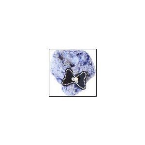 犬のマフラー 秋 冬 GODPIVA ファーマフラー ネイビー ゴッドピヴァ|ciera