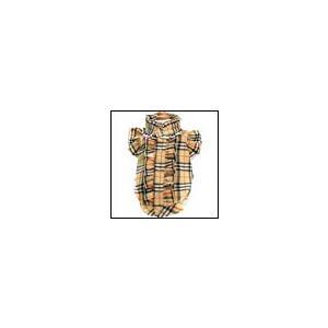 犬の服 秋 冬 GODPIVA フリルブラウス レインボーチェック ベージュ ゴッドピヴァ 洋服 ドッグウェア|ciera