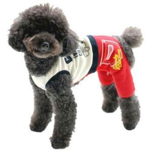 犬の服 秋 冬 チャームプリントオールインワン グレー grandy グランディ つなぎ 洋服 ドッグウェア セール|ciera|04