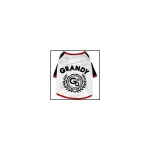 犬の服 春 夏 新作 GDロゴTEE ホワイト grandy グランディ Tシャツ 洋服 ドッグウェア ciera