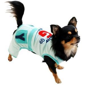 犬の服 春 夏 新作 パイルオールインワン グリーン grandy グランディ 洋服 ドッグウェア|ciera|06
