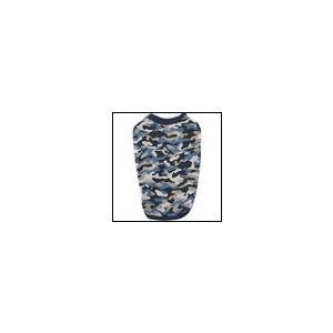 秋冬 新作 犬の服 クークチュール ヒートワン インナータンク迷彩 ブルー heat wan Coo Couture 洋服 ドッグウェア|ciera