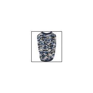 猫の服 秋 冬 新作 クークチュール ヒートワン インナータンク迷彩 ブルー heat wan Coo Couture 洋服 ドッグウェア|ciera