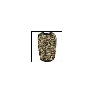 秋冬 新作 犬の服 クークチュール ヒートワン インナータンク迷彩 カーキ heat wan Coo Couture 洋服 ドッグウェア|ciera