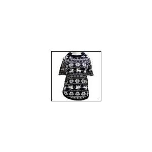 犬の服 秋 冬 新作 クークチュール ヒートワン インナーノルディックTシャツ ネイビー heat wan Coo Couture 洋服 ドッグウェア|ciera