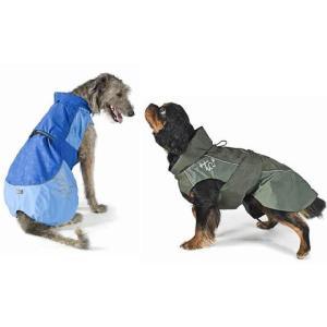 犬のレインコート Hurtta Pro Rain coat ブルー フルッタ|ciera|04