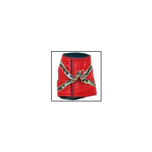 犬の胴輪 ボディーハーネス ナイロンダウン レッド  犬と生活 小型犬|ciera