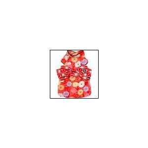 犬の服 秋 冬 新作 お振袖 赤 犬と生活 洋服 ドッグウェア|ciera