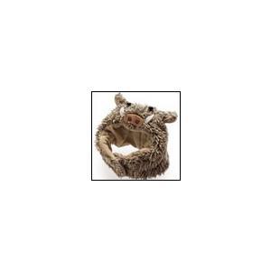 猫の帽子 秋 冬 干支ハット イノシシ 犬と生活|ciera