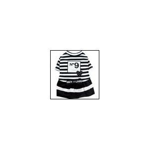 犬の服 秋冬 新作 ボーダー・ラブメリア ブラック LAMZY ラムジー ワンピース 洋服 ドッグウェア|ciera