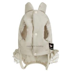 秋 新作 冬 犬の服 ルイスドッグ Louis Dog Wow Padding Pants ベージュ 洋服 ドッグウェア|ciera|03