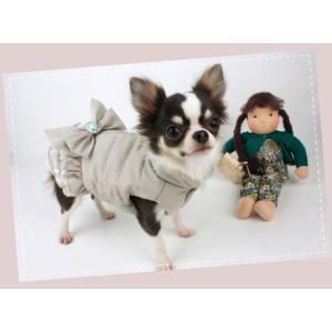 秋 新作 冬 犬の服 ルイスドッグ Louis Dog Wow Padding Pants ブルー 洋服 ドッグウェア|ciera|04