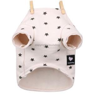 犬の服 秋 新作 冬 ルイスドッグ Louis Dog Stars Plz/Tee ピンク 洋服 ドッグウェア|ciera|03