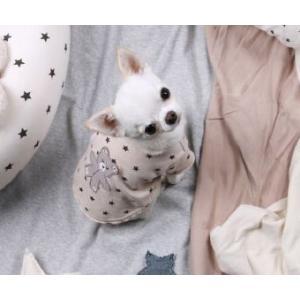 犬の服 秋 新作 冬 ルイスドッグ Louis Dog Stars Plz/Tee ピンク 洋服 ドッグウェア|ciera|04
