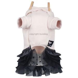 秋 新作 冬 犬の服 ルイスドッグ Louis Dog Bunny Dress グレー ワンピース 洋服 ドッグウェア|ciera|03