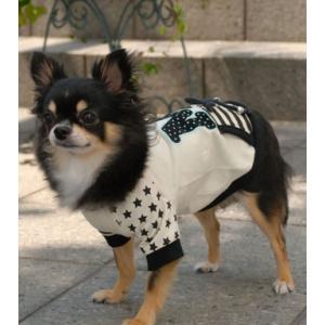 犬の服 秋 冬 MIXトレーナー アイボリー mimile ミミル 洋服 ドッグウェア|ciera|04
