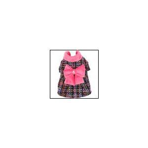 犬の服 秋 冬 新作 PINKAHOLIC ピンカホリック GLEE ピンク コート 洋服 ドッグウェア ciera