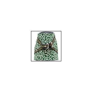 猫用ハーネス ハンドルベスト 唐草 緑 猫の暮らし オーガニックコットン|ciera