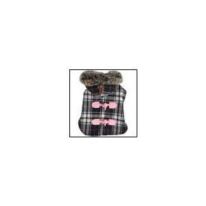 秋 新作 冬 犬の服 PUPPIA パピア DOGBERRY ブラック ダウン ジャケット アウター 洋服 ドッグウェア|ciera