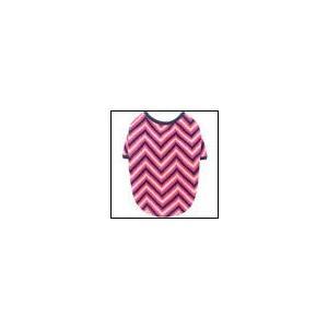 犬の服 秋 冬 新作 ジグザグニットティーシャツ ピンク sniff スニフ 洋服 ドッグウェア|ciera
