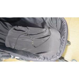 対面式ペットカート TANTO ブラック  レインカバー付き 中型犬用バギー|ciera|06