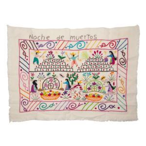 絵画の刺繍布(2)
