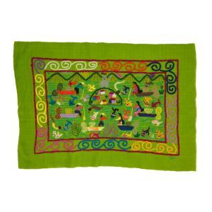 絵画の刺繍布(9)
