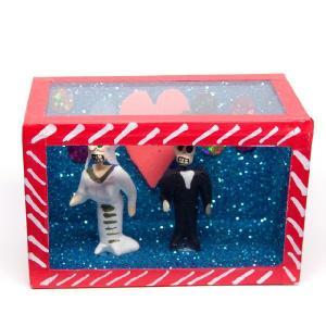カラベラ人形のミニ飾り箱(9)|cinco