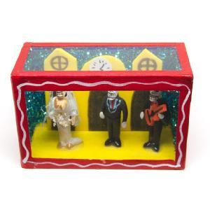 カラベラ人形のミニ飾り箱(15)|cinco