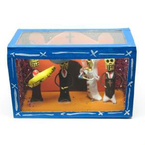 カラベラ人形のミニ飾り箱(19)|cinco